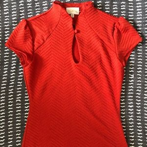 ModCloth High Society Style Knot Top
